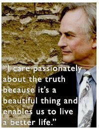 """Richard Dawkins...although I do understand that beauty will always be in the eye of the beholder. (P.S. the """"beholder"""" is not a god. It's YOU.)"""