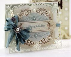 5 x 7 Elegant Labels Four Dies