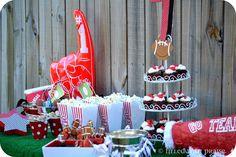 Razorback Themed Birthday Party