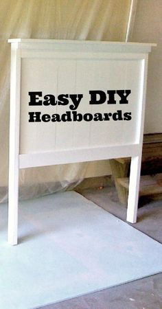 Make Your Own Headboard in One Afternoon - Live Green + Natural