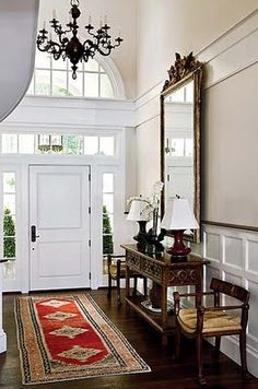 Great foyer...