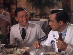 """""""She called me 'Denny'!"""" - Dennis Ryan (Frank Sinatra) in Take Me Out to the Ball Game Frank & Gene were great together."""