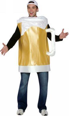 Beer Mug Costume - Adult Costume  Product #: WC17075