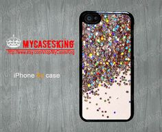 Sparkle Glitter iPhone 5c case Glitter iPhone5c case Cover Skin Case for iPhone 5c Hard/Rubber case-Choose Your Favourite Color by MyCasesKing, $7.99