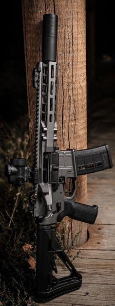 Suppressed 5.56/.223 AR-15