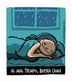 Al mal tiempo..