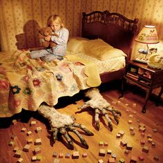 """13 Seriously Disturbing Pictures Of Children's Nightmare.  On his website , Joshua writes: """"I am interested in the psychology of fear."""""""
