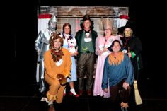 """Quality/ Design and Construction used """"Wizard of Oz"""" (AAHHHS) as their theme."""