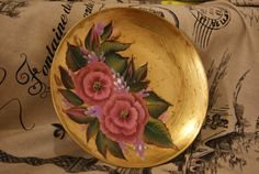 Wall Hanging Decorative Plate by shahrvaziri on Etsy