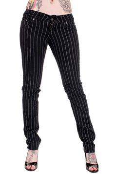 Jist Pinstripe Stretch Jeans