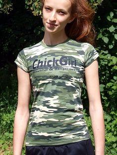 T-shirt kamuflage