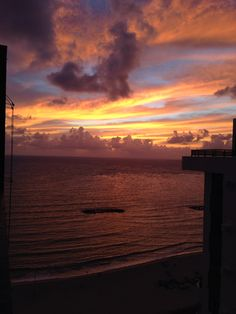 Sunrise - Praia de Candeias - Jaboatão dos Guararapes - Pernambuco - Brazil