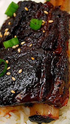 Instant pot recipes 450571137720331442 - Instant Pot Korean Style Short Ribs Source by Rib Recipes, Slow Cooker Recipes, Cooking Recipes, Recipies, Asian Pressure Cooker Recipes, Healthy Recipes, Korean Recipes, Cheap Recipes, Healthy Soup