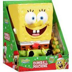 Spongebob Squarepants Gumball Machine figure die cast doll ( parallel import ) @ niftywarehouse.com #NiftyWarehouse #Nerd #Geek #Entertainment #TV #Products