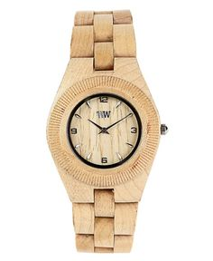 "https://www.cityblis.com/5013/item/14340  WeWOOD Odyssey Beige - $120 by WeWOOD  • WeWOOD Style Exclusively for Women • 100% Natural Wood  • Hypo-allergenic  • Completely free of toxic chemicals  • Miyota movement  • Adjustable to fit any wrist • Dimensions:  Band: 7 3/4"" (195 mm) FACE (including wood frame / bezel): 2"" (50mm) long, and 1 3/4"" (44mm) ..."