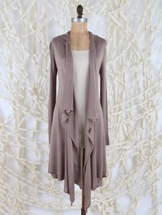 """Open Cardigan Sweater - luxurious - shop by """"state"""" of mind"""
