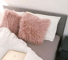 Items similar to Nude Pink Dark Blush Mongolian Faux Fur Double Sided Supersoft Scatter Cushion Pillow Bedroom Couch Sofa Lounge Nursery on Etsy Blush Pink Bedroom, Pink Bedrooms, Teen Girl Bedrooms, Bedroom Couch, Bedroom Decor, Couch Sofa, Bedroom Ideas, Pink Cushions, Scatter Cushions