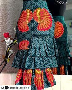 Trendy Ankara Skirt Styles For Ladies Women Fashion African Wear Dresses, Ankara Dress Styles, Latest African Fashion Dresses, African Print Fashion, Africa Fashion, African Attire, Ankara Skirt, African Print Skirt, Look Fashion