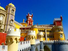 Pena Palace, Sintra - read about the interesting history of how this palace came to be