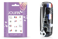 Fußball WM Fingernägel Frankreich
