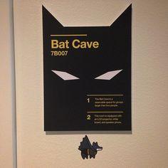The Bat Cave meeting room at the #IBM Design Studio in Austin. Spot the #SuperCorgi? (Photo via @kemcelroy) #IBMDesign