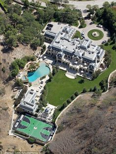 Home sweet home: Five years into construction on Mark Wahlberg's 30,000-square-foot French...
