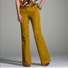 J. Crew %100 Linen pants J. Crew %100 Linen pants- NWT- color brown, low fit style,size 0, inseam about 33' J. Crew Pants Boot Cut & Flare