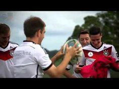 clipe gravado pela seleção alemã ao som de Tieta - YouTube