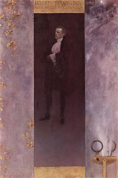 Josef Lewinsky, 1895 - Gustav Klimt