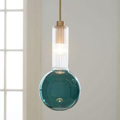 Sarah Colson Pendant - Turquoise | west elm