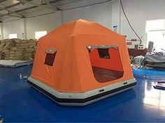 Inflatable Floating Tent