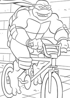 ninja turtles coloring pages | teenage mutant ninja turtles ... - Ninja Turtle Pizza Coloring Pages