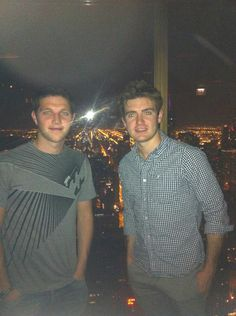 """Super night last night in Chicago! Here with @EmmetcahillCT 95 stories high!""-Colm"