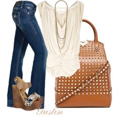 A little dressed up... <3 the top and bag