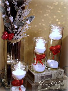 Dining Delight: Winter Decor with a Hint of Valentine