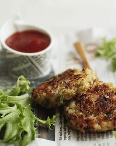 Garlic and Thyme Quinoa Patties | 32 Ways To Eat Quinoa And Succeed In Life