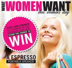 Facebook Campaign | Women's Day by Sinead Queiroz Fourie, via Behance Ladies Day, Phoenix, Campaign, Behance, Facebook, Life, Design, Behavior