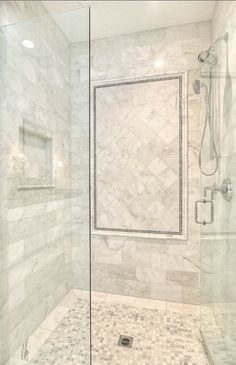 Lovely Master Bath Shower Ideas Bathroom Shower. Marble Shower Ideas. #Bathroom #Shower