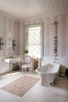 Plascon Colour of The Month August Powder Pink Inspiration, Image Source: plascon.co.za Plascon Colours, Colour Inspiration, Powder Pink, Clawfoot Bathtub, Bathrooms, Image, Color, Bathroom, Full Bath