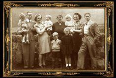 HUTCHISON FAMILY, LOCHGELLY, FIFE, SCOTLAND.
