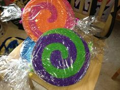 make candy decorations | Candyland Decorations - Candy props | ImaginationCreations - Seasonal ...