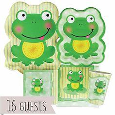 Froggy Frog - Birthday Party 16 Big Dot Bundle | BigDotOfHappiness.com