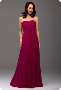 Style of bridesmaid dress - available in different colours