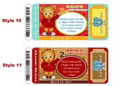Daniel Tiger Invitation, Daniel Tiger Party, Daniel Tiger Birthday, Daniel Tiger Printables. $9.99, via Etsy.
