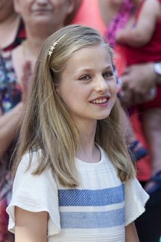 Princess Leonor Photos Photos - Princess Leonor of Spain visits the Can Prunera Museum on August 6, 2017 in Palma de Mallorca, Spain. - Spanish Royals Visit Can Prunera Museum In Soller - Palma de Mallorca