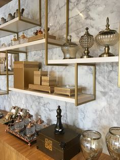 Home Room Design, Dining Room Design, House Design, Living Room Wall Units, Glam Living Room, Interior Design Guide, Apartment Interior Design, Shelving Design, Shelf Design
