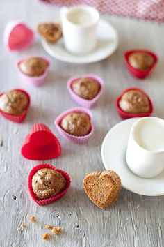 Adorable mini muffins for your Valentine's breakfast.