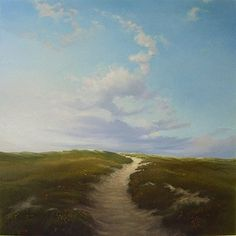 Janhendrik Dolsma. O-oh, wonderful clouds, they repeat the form of the path...