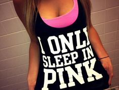 VS pink clothes