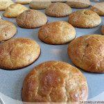 Basisrecept voor koolhydraatarme muffins granenvrij en suikervrij